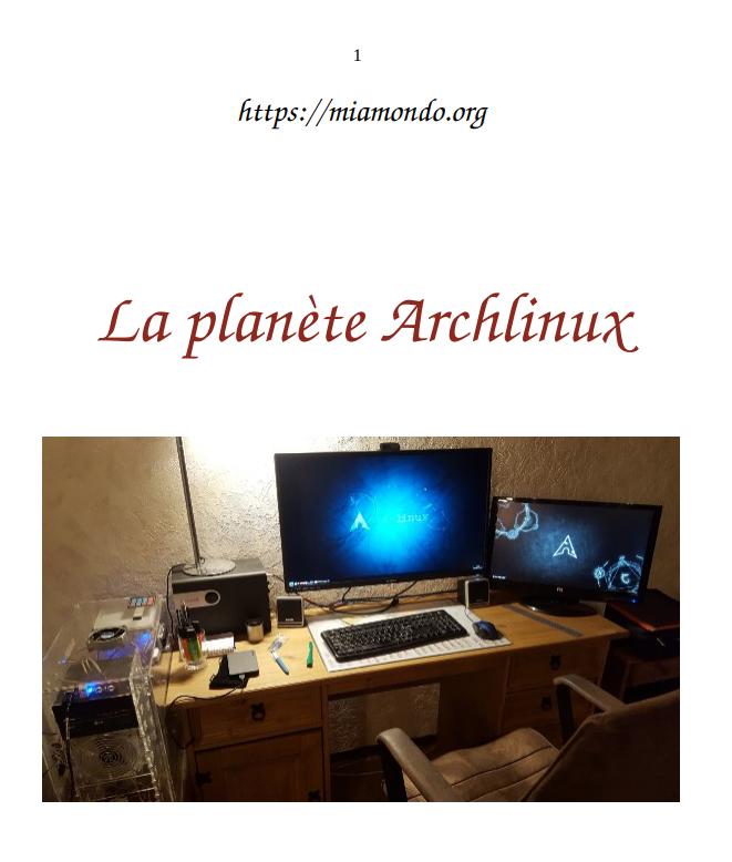 Planete archlinux